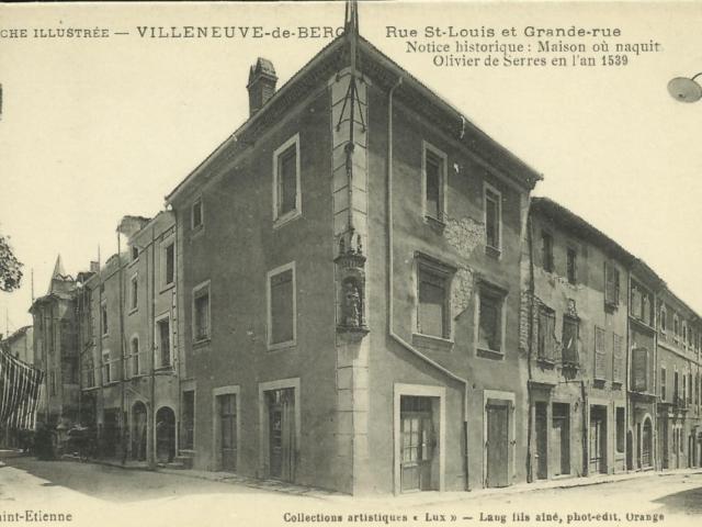 Maison natale Villeneuve de Berg